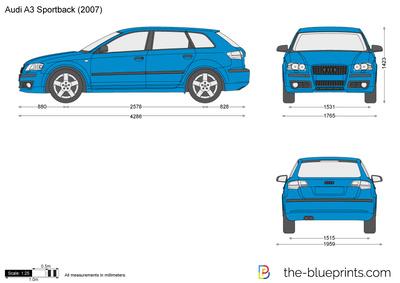 Audi A3 Sportback (2007)