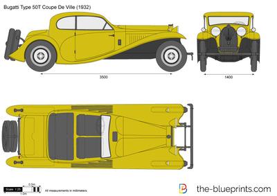 Bugatti Type 50T Coupe De Ville (1932)