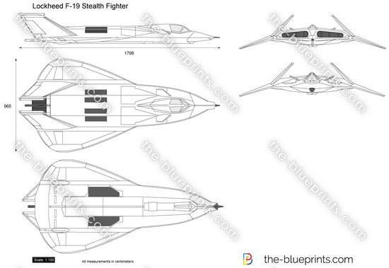 Lockheed F-19 Stealth Fighter