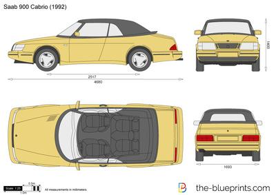 Saab 900 Cabrio (1992)