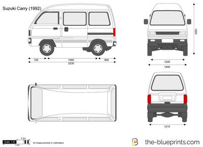 Suzuki Carry Internal Dimensions