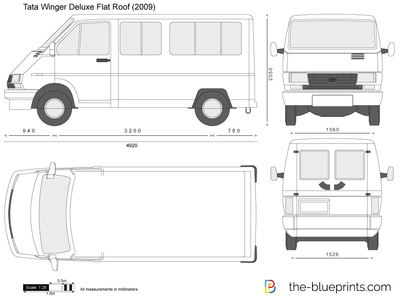Tata Winger Deluxe Flat Roof