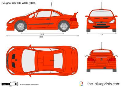 Peugeot 307 CC WRC (2006)