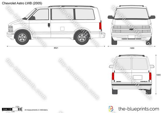 Chevrolet Astro LWB