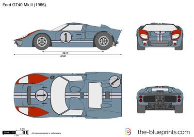 Ford GT40 Mk. II