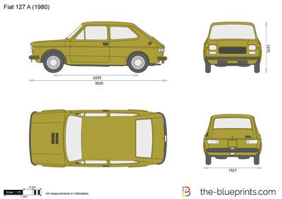 Fiat 127 A (1980)