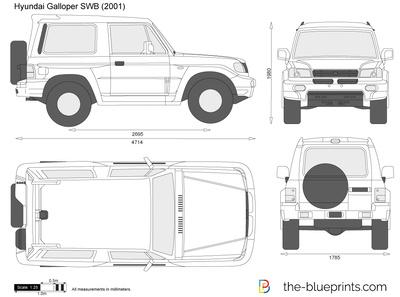 Hyundai Galloper SWB