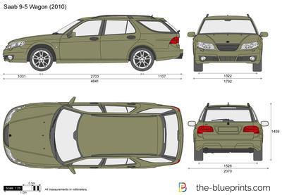 Saab 9-5 Wagon (2010)