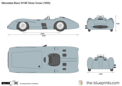 Mercedes-Benz W196 Silver Arrow