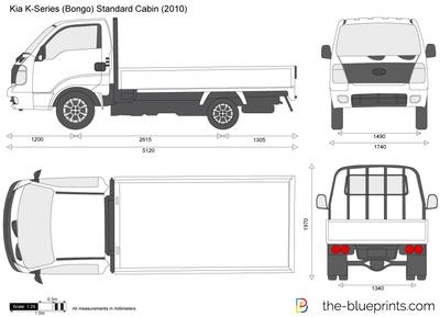 Kia K-Series (Bongo) Standard Cabin
