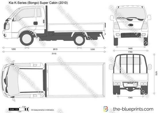 Kia K-Series (Bongo) Super Cabin