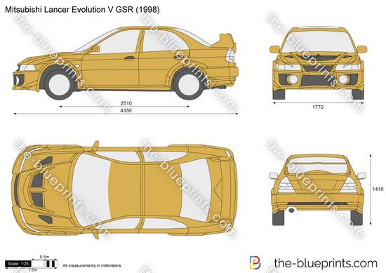 Mitsubishi Lancer Evolution V GSR