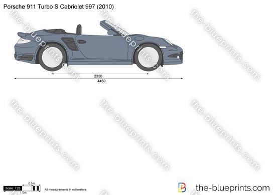 Porsche 911 Turbo S Cabriolet 997