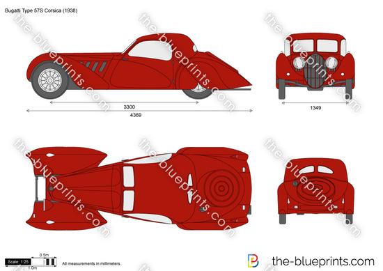 Bugatti Type 57S Corsica