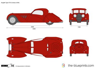 Bugatti Type 57S Corsica (1938)