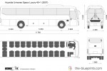 Hyundai Universe Space Luxury 45+1