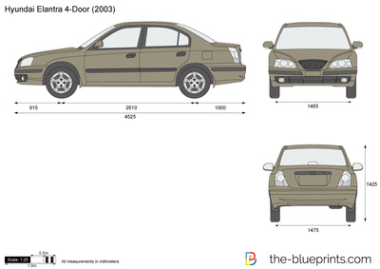 Hyundai Elantra 4-Door