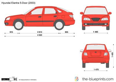 Hyundai Elantra 5-Door (2003)
