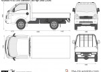 Hyundai H100 LWB Standard Cab High Deck