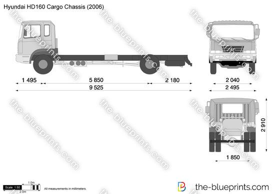 Hyundai HD160 Cargo Chassis