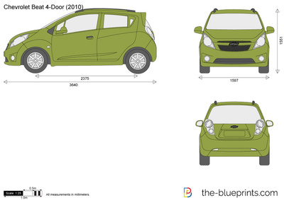 Chevrolet Beat 4-Door