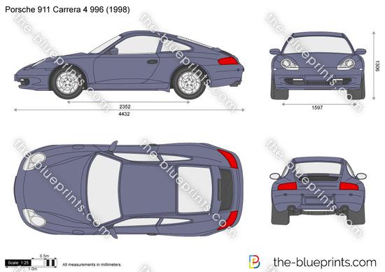 Porsche 911 Carrera 4 996