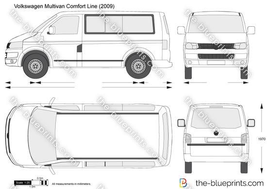 Volkswagen Multivan Comfort Line