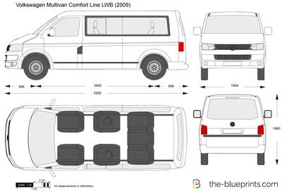 Volkswagen Multivan Comfort Line LWB