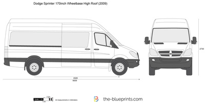 Dodge Sprinter 170inch Wheelbase High Roof