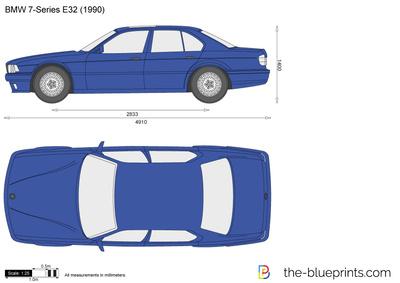 BMW 7-Series E32