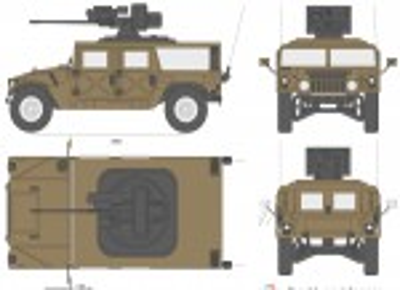 Hummer M242 Bushmaster (1992)