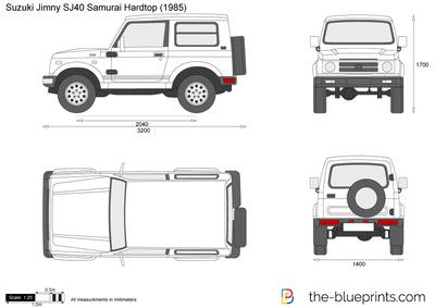 Suzuki Jimny SJ40 Samurai Hardtop (1985)