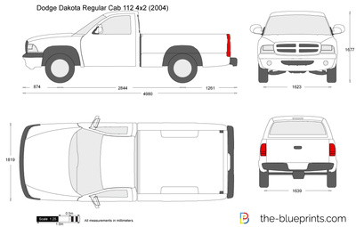 Dodge Dakota Regular Cab 112 4x2