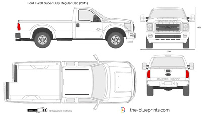 Ford F-250 Super Duty Regular Cab LWB 137
