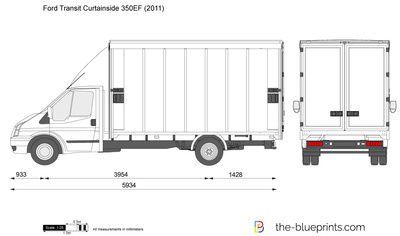 Ford Transit Curtainside 350EF