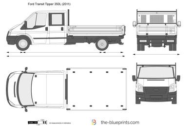Ford Transit Tipper 350L