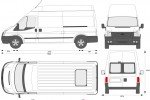 Ford Transit Van LWB High Roof