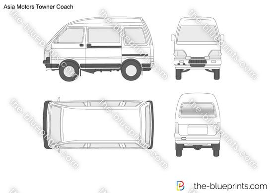 Asia Motors Towner Coach