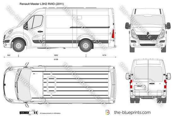 Renault Master L3H2 RWD