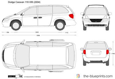 Dodge Caravan 119 WB (2004)