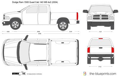 Dodge Ram 1500 Quad Cab 140 WB 4x2