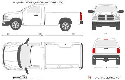 Dodge Ram 1500 Regular Cab 140 WB 4x2