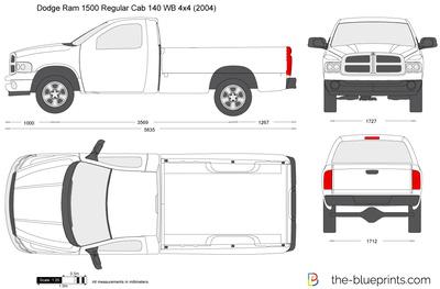 Dodge Ram 1500 Regular Cab 140 WB 4x4