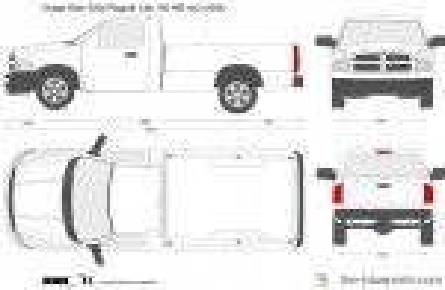Dodge Ram 2500 Regular Cab 140 WB 4x2