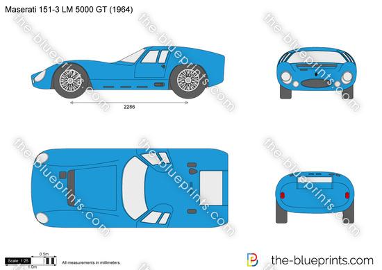 Maserati 151-3 LM 5000 GT