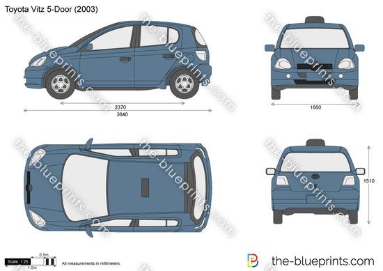Toyota Vitz 5-Door