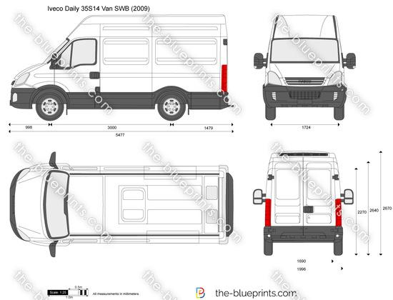 Iveco Daily 35S14 Van SWB