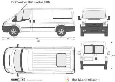 Ford Transit Van MWB Low Roof