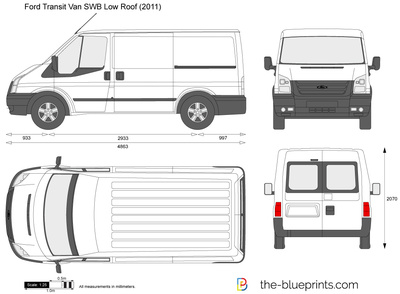 Ford Transit Van SWB Low Roof