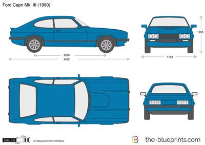 Ford Capri Mk. III (1980)